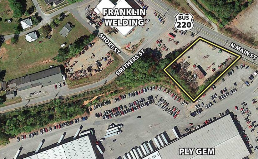 For Sale: 0.754± Acre Lot (Between Ply Gem and Franklin Welding)
