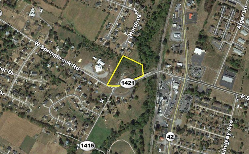 Real Estate Auction: 3.416 Acres